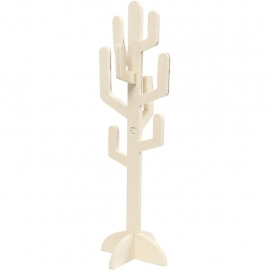 Cactus de madera