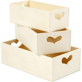 3 Cajas de almacenamiento