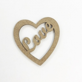 Corazón love 4,5x4,6cm