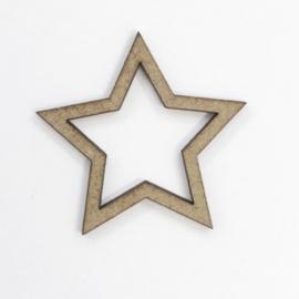 Silueta estrella