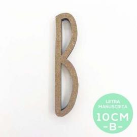 B-LETRA MANUSCRITA (10cm)