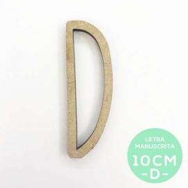 D-LETRA MANUSCRITA (10cm)