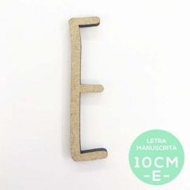E-LETRA MANUSCRITA (10cm)