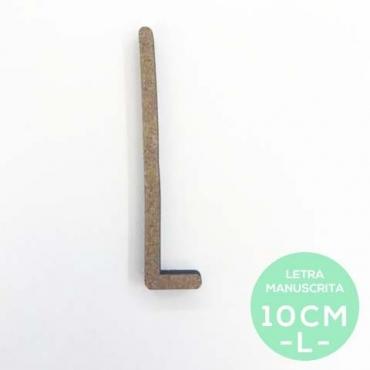 L-LETRA MANUSCRITA (10cm)