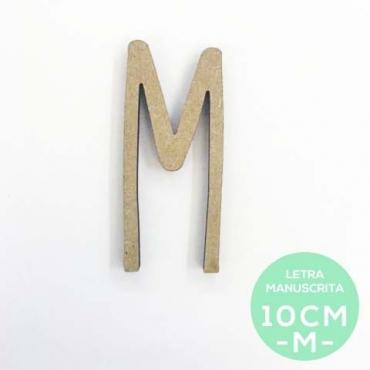 M-LETRA MANUSCRITA (10cm)