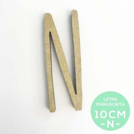 N-LETRA MANUSCRITA (10cm)
