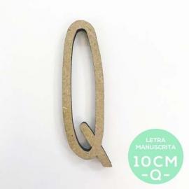 Q-LETRA MANUSCRITA (10cm)