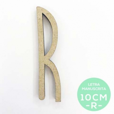 R-LETRA MANUSCRITA (10cm)