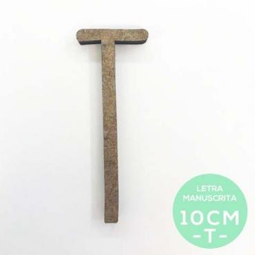 T-LETRA MANUSCRITA (10cm)