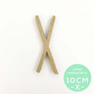X-LETRA MANUSCRITA (10cm)