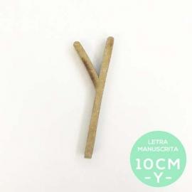 Y-LETRA MANUSCRITA (10cm)