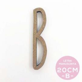 B-LETRA MANUSCRITA (20cm)