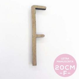 F-LETRA MANUSCRITA (20cm)