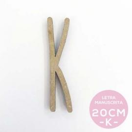 K-LETRA MANUSCRITA (20cm)