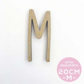 M-LETRA MANUSCRITA (20cm)