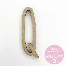Q-LETRA MANUSCRITA (20cm)