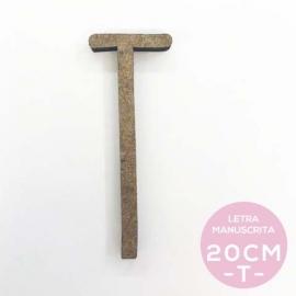 T-LETRA MANUSCRITA (20cm)
