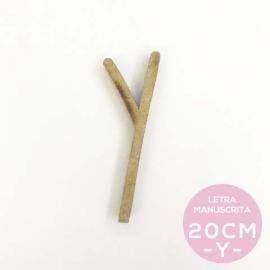 Y-LETRA MANUSCRITA (20cm)