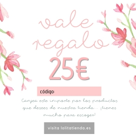 VALE REGALO 25€