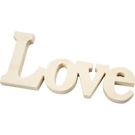Palabra decorativa LOVE