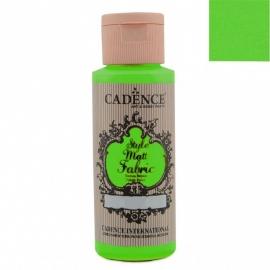 STYLE MATT FABRIC - Verde Fluorescente