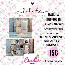 TALLERES RÁPIDOS 11.00H A 12.00H DOMINGO