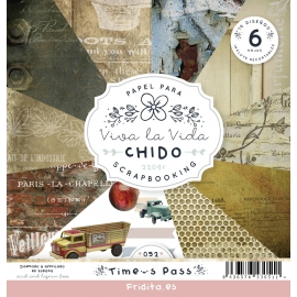 SET PAPELES - TIME PASS by CHIDO