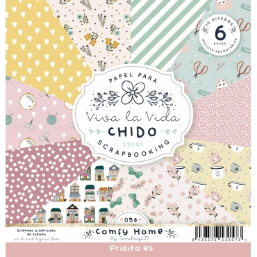 SET PAPELES - COMFY HOME by CHIDO