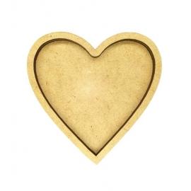 Shaker 10-12 cm Corazón
