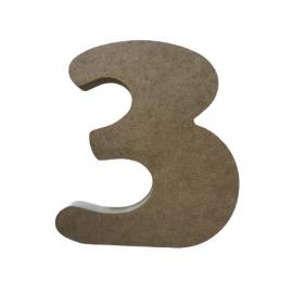 NUMERO 3 COOPER 19CM