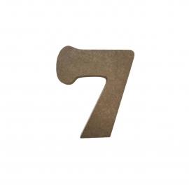 NUMERO 7 COOPER 10CM