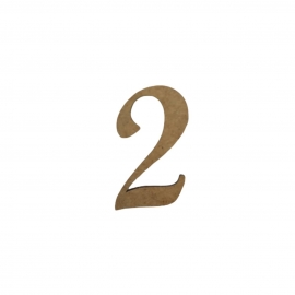 NUMERO 2 LIGADO 2CM
