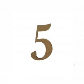 NUMERO 5 LIGADO 2CM