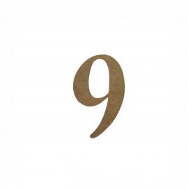 NUMERO 9 LIGADO 2CM