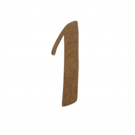 NUMERO 1 LIGADO 4CM