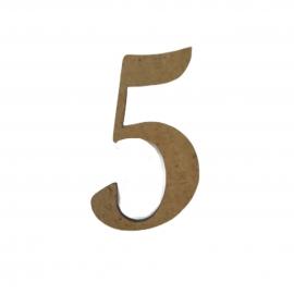 NUMERO 5 LIGADO 4CM