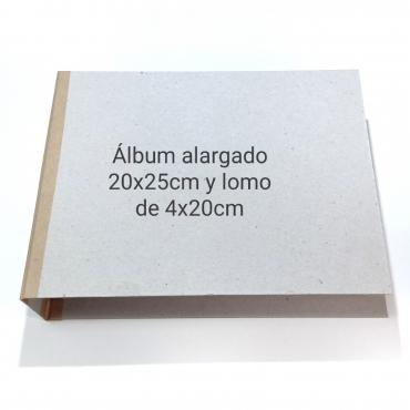 ÁLBUM ALARGADO 20X25CM