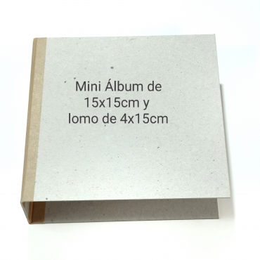 ÁLBUM CUADRADO 15X15CM