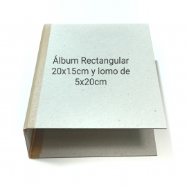 ÁLBUM RECTANGULAR 20X15CM