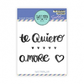 SELLO TE QUIERO AMORE SWEET MÖMA