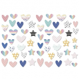 DIE CUTS RECORTABLES CORAZONES SWEET MÖMA