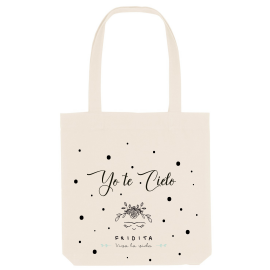 TOTE BAG YO TE CIELO BY FRIDITA