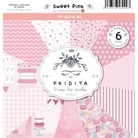 SET PAPELES - SWEET PINK