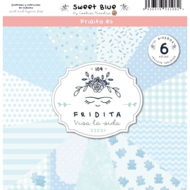 SET PAPELES - SWEET BLUE
