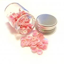Lentejuelas rosa claro