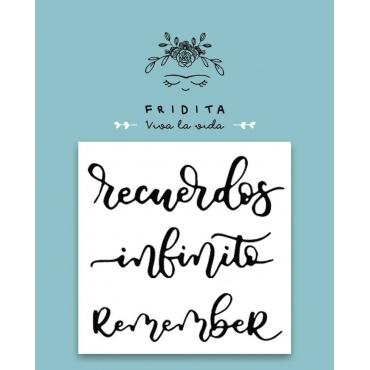 SELLO PALABRAS RECUERDOS 5X5