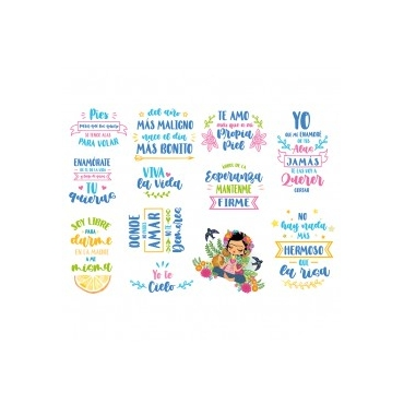 Die cuts mexico lindo frases