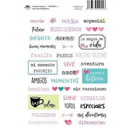 PALABRAS Y FRASES STICKERS