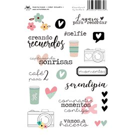 SERENDIPIA CLEAR STICKERS
