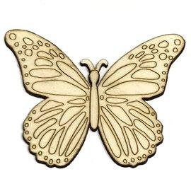 SILUETA 10cm FLORECE - MARIPOSA